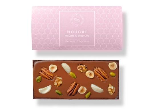 Čokoláda plněná lískooříškovým nugátem 100 g
